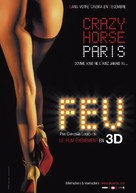 FEU: Crazy Horse Paris - French Movie Poster (xs thumbnail)