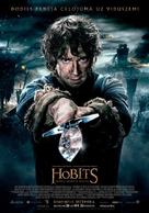The Hobbit: The Battle of the Five Armies - Latvian Movie Poster (xs thumbnail)