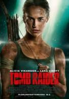 Tomb Raider - Finnish Movie Poster (xs thumbnail)