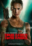 Tomb Raider - Finnish Movie Poster (xs thumbnail)
