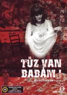 Horí, má panenko - Hungarian DVD cover (xs thumbnail)