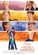 The Second Best Exotic Marigold Hotel - Spanish Movie Poster (xs thumbnail)
