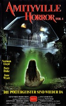 Amityville: The Evil Escapes - German VHS movie cover (xs thumbnail)