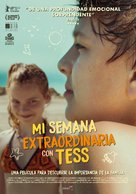 My Extraordinary Summer with Tess - Spanish Movie Poster (xs thumbnail)