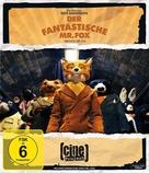 Fantastic Mr. Fox - German Blu-Ray cover (xs thumbnail)