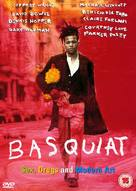 Basquiat - British DVD movie cover (xs thumbnail)