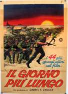 The Longest Day - Italian Movie Poster (xs thumbnail)