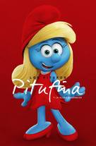 Smurfs: The Lost Village - Spanish Movie Poster (xs thumbnail)