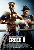 Creed II - Portuguese Movie Poster (xs thumbnail)