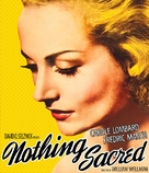 Nothing Sacred - Blu-Ray movie cover (xs thumbnail)