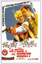 The Sheriff of Fractured Jaw - Spanish Movie Poster (xs thumbnail)
