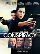 Unlocked - French Movie Poster (xs thumbnail)