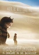 Where the Wild Things Are - Dutch Movie Poster (xs thumbnail)