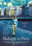 Midnight in Paris - Italian Movie Poster (xs thumbnail)