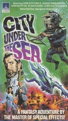 The City Under the Sea - Finnish VHS movie cover (xs thumbnail)