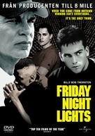 Friday Night Lights - Swedish DVD movie cover (xs thumbnail)