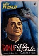 Roma, città aperta - Italian Movie Poster (xs thumbnail)
