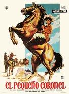 El pequeño coronel - Mexican Movie Poster (xs thumbnail)