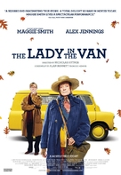 The Lady in the Van - Canadian Movie Poster (xs thumbnail)