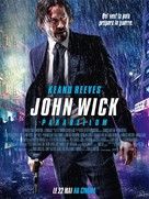 John Wick: Chapter 3 - Parabellum - French Movie Poster (xs thumbnail)