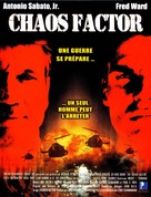 The Chaos Factor - French DVD movie cover (xs thumbnail)