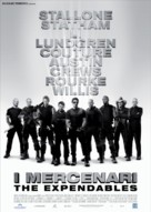 The Expendables - Italian Movie Poster (xs thumbnail)