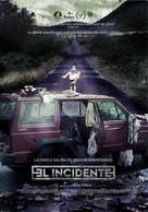 El Incidente - Mexican Movie Poster (xs thumbnail)