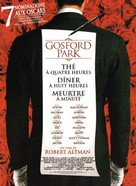 Gosford Park - French Movie Poster (xs thumbnail)