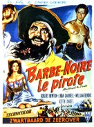 Blackbeard, the Pirate - Belgian Movie Poster (xs thumbnail)
