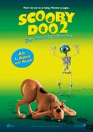 Scooby Doo 2: Monsters Unleashed - German Movie Poster (xs thumbnail)
