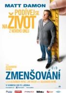 Downsizing - Czech Movie Poster (xs thumbnail)