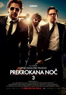 The Hangover Part III - Slovenian Movie Poster (xs thumbnail)