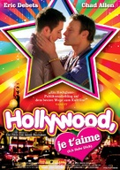 Hollywood, je t'aime - German Movie Cover (xs thumbnail)