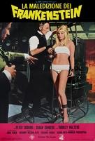 Frankenstein Created Woman - Italian Movie Poster (xs thumbnail)