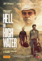 Hell or High Water - Australian Movie Poster (xs thumbnail)