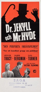 Dr. Jekyll and Mr. Hyde - Swedish Movie Poster (xs thumbnail)