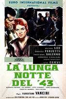 Lunga notte del '43, La - Italian Movie Poster (xs thumbnail)