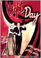 Night and Day - Swedish Movie Poster (xs thumbnail)