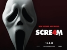 Scream 4 - British Movie Poster (xs thumbnail)