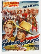 North West Mounted Police - Belgian Movie Poster (xs thumbnail)