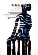 Le petit soldat - German Movie Poster (xs thumbnail)