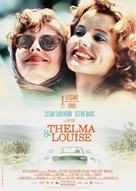 Thelma And Louise - French Re-release movie poster (xs thumbnail)
