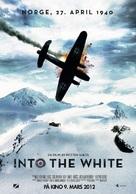 Into the White - Norwegian Movie Poster (xs thumbnail)