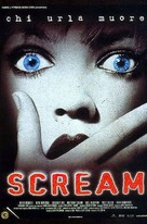 Scream - Italian Movie Poster (xs thumbnail)