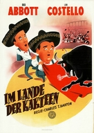 Mexican Hayride - German Movie Poster (xs thumbnail)