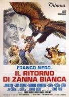 Il ritorno di Zanna Bianca - Italian Movie Poster (xs thumbnail)