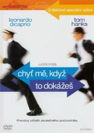 Catch Me If You Can - Czech DVD movie cover (xs thumbnail)