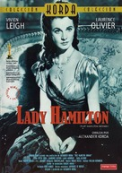 That Hamilton Woman - Spanish DVD cover (xs thumbnail)