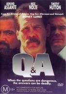 Q & A - Australian DVD cover (xs thumbnail)