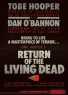 The Return of the Living Dead - Teaser movie poster (xs thumbnail)